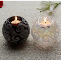 Cheap lantern wholesale glass jars craft candle holder for sale