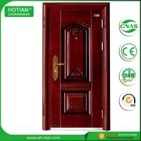 Cheap modern gate door main entrance steel safety door design 2016 with warterproof and fire rating function wholesale