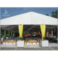 Cheap Large Outdoor Backyard Luxury Wedding Tents , Decorating Tents For Wedding Receptions wholesale