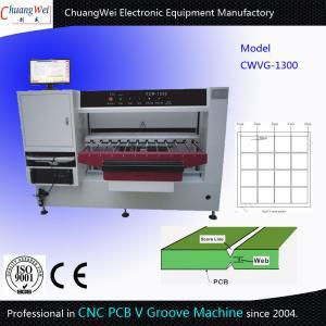 Cheap V Scoring Marking Machine V Groove Machine CNC Making V Groove On PCB Panel for sale