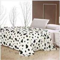Cheap Warmth 100 Polyester Micro Fiber Blanket Cartoon Printing , Polar Fleece Blanket wholesale