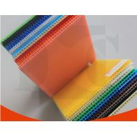 China Opaque Aging Resistance PP Flute Board Coroplast Sheets For Packing Boxes on sale