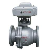 Buy cheap Electric actuator flange ball valve from wholesalers