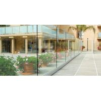 Cheap Good Quality Deck Railing Glass Panels with Frameless Glass Balustrade Design for sale