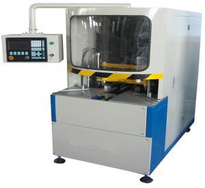 Cheap 380V 50Hz Vinyl UPVC Window Machine , CNC Corner Cleaning Machine 100mm Width wholesale