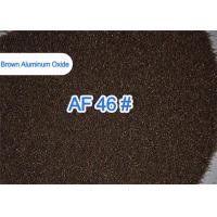 China Al2O3 95% Fused Aluminium Oxide , Sandblasting Brown Alumina Grit Blasting  on sale