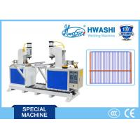 China HWASHI Automatic Double Head T Type Pipe,Refrigerator Shelf Wire Frame T Butt Welding Machine on sale