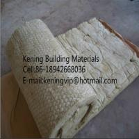 Cheap Rock wool blanket,mineral wool roll with wire mesh for heat insulation for sale