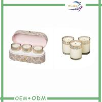 Cheap Elegant Candle Box Packaging Oval Kraft Cardboard Candle Storage Packaging Boxes wholesale