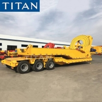 Cheap Types of Wind Blade Windmill Turbine Tower Transporter Trailers for sale