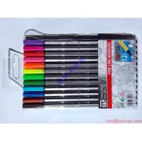 Cheap 24 colors fineliner 0.4mm marco pen multi color pen,water color pen wholesale for sale