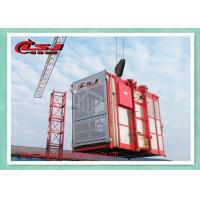 Cheap Building Site Industrial Elevators And Lifts , Man Material Hoist High Power for sale