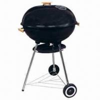 "Cheap 22"" Trolley Big Size Aaple/Kettle BBQ Grills with 79cm Cooking Height for sale"