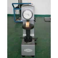 Cheap Prefessional Hardness Rubber Testing Machine For Hardened Steel Rockwell for sale