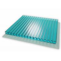 Cheap 6mm to 12mm Thickness Colored Layered Polycarbonate Sheet with Uv Coated for sale