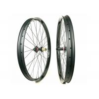 Buy cheap 50MM Height 25MM Width Carbon Mountain Bike Wheelset 29ER Plus 60 Psi from wholesalers