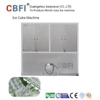 Cheap 304 Stainless Steel Industrial Ice Cube Making Machine R22 Refrigerant for sale