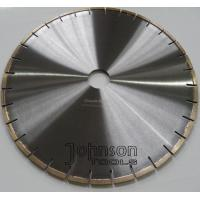 "China Narrow U Slot Type Diamond Stone Cutting Blades High Efficiency Wet Cutting 12""- 64"" on sale"