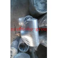 Cheap ASME/ANSI B16.9 Stainless Steel butt welded reducer tee pipe fitting for sale