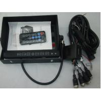 Cheap 7inch 4-channel Car Mobile DVR for sale
