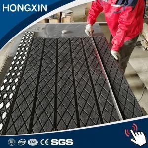 China Belt Conveyor Pulley Slide Rubber Lagging Sheeet, Elevator Pulley Lagging on sale