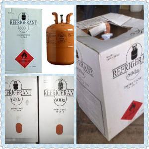 China Hot sale gas refrigerante r600a with good price butane gas R600A refrigerant on sale