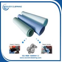 Cheap Sontara and Wypall replecment woodpulp and polyester spunlaced nonwoven fabric jumbo roll material for sale