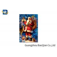 Cheap Customized PET 3D Printed Christmas Card / Lenticular Card Printing for sale