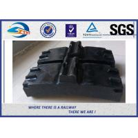 Cheap Low Friction Train Wheel Composite Brake Block Cast Iron / Locomotive Brake Shoe for sale