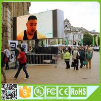 Buy cheap 1200Hz refresh rate 1/4 scan 10000 dots/sqm smd p6 p10 outdoor led screen from wholesalers