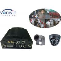 Cheap HDD 4CH WIFI 720P Car DVR G-Sensor For Taxi 4ch MDVR with APP for sale