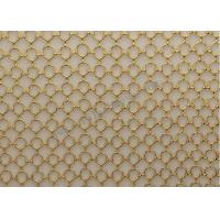 Cheap SS3016 Decorative Ring Metal Wire Mesh For Partition Wall Fabrication for sale