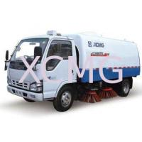 Special Purpose Vehicles Street Sweeper Trucks For Stadium , Dock And School