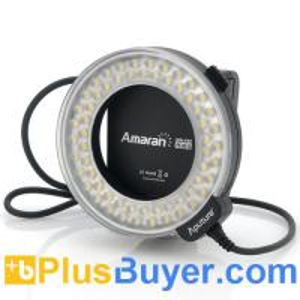 Cheap Apurture Amaran AHL-C60 - Macro LED Ring Light For Canon (60 LEDs, 6W, 8 Mounts) wholesale