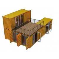 China Topshaw Container House Luxury 40ft Prefab Shipping Container Houses with Kitchen Bathroom for sale Philippines on sale