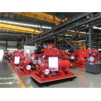 Buy cheap Red Fire Fighting Pump Set Diesel engine Fire Fighting Water Pump 500 gpm 130 from wholesalers