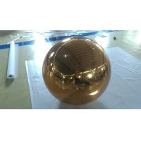 Cheap Inflatable Gold Mirror Ball Ornaments / Inflatable Glitter Ball for sale