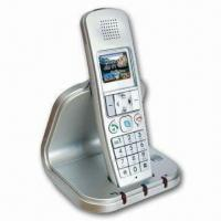 Cheap VoIP Phone with Skype Call, API Internet Upgradeable, and Colorful Display for sale