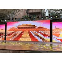 Cheap 5000 Nits Brightness Outdoor Rental LED Display Video Wall HD PH4.81mm For Stage Event for sale