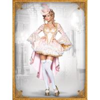 Cheap Wholesale Quality Halloween Christmas Fancy Dress Costumes Vixen of Versailles Costumes for sale