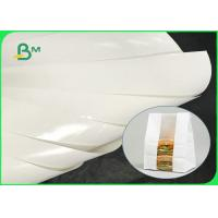 China Greaseproof 100gsm 120gsm 150gsm + 10g PE Coated Paper For Packing Food on sale