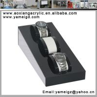 Buy cheap watch chain silver jewelry watch stacker tray display from wholesalers