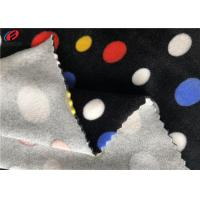 China Home Textile Spandex Velvet Knitting Fabric Print Velboa Fabric For Baby Use on sale
