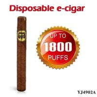 China HOT Disposable Electronic Cigar large capacity 1800 puffs simulation Electronic Cigar  YJ4902A on sale