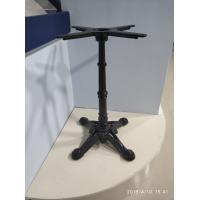 Cheap Fancy Vintage Table Basee  Sturdy Cast Iron Table Legs Column Dining Table Base for sale