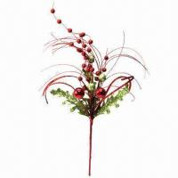 Cheap Christmas Artificial Flower, Handmade Craft and Long Preservation for sale
