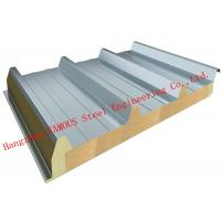 Cheap Recycled Usage Fire Resistant Rock Wool Sandwich Panels Easy Installation Roof Systems for sale