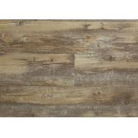 Cheap Floating Hard SPC Vinyl Flooring , Vinyl Laminate Flooring Convenient Designs for sale