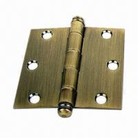 Cheap Door Hinge, Made of Steel, OEM Orders are Welcome for sale