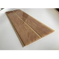 Cheap Thick PVC Wood Printing Panels / Damp Proof PVC Interior Wall Panels for sale
